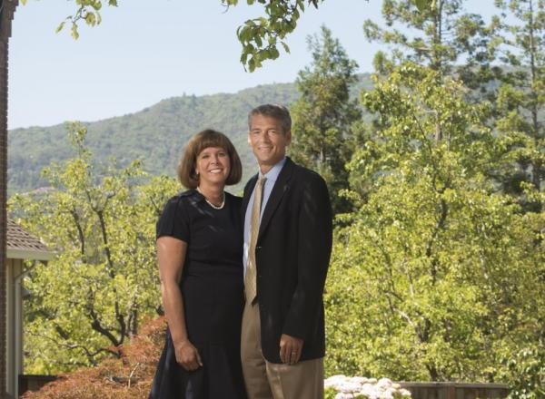 UC Davis alumni Michael and Joelle Hurlston have pledged $1.5 million to endow a first-of-its-kind chair position. (Photo: Gregory Urquiaga/UC Davis)